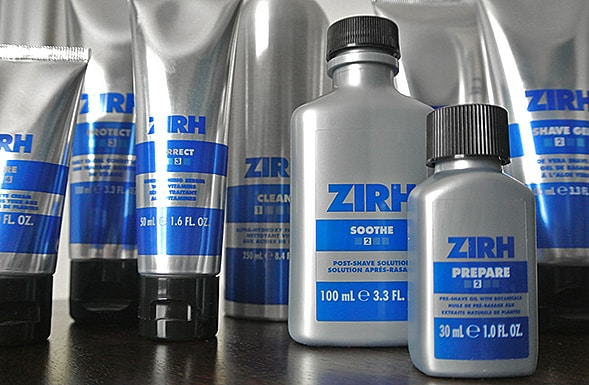 zirh skin care and shaving1 Zirh Skin Care and Shaving