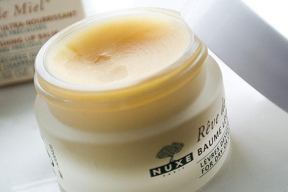 reve de miel balm open Nuxe Reve de Miel Ultra Nourishing Lip Balm / Lip Nourishing Stick
