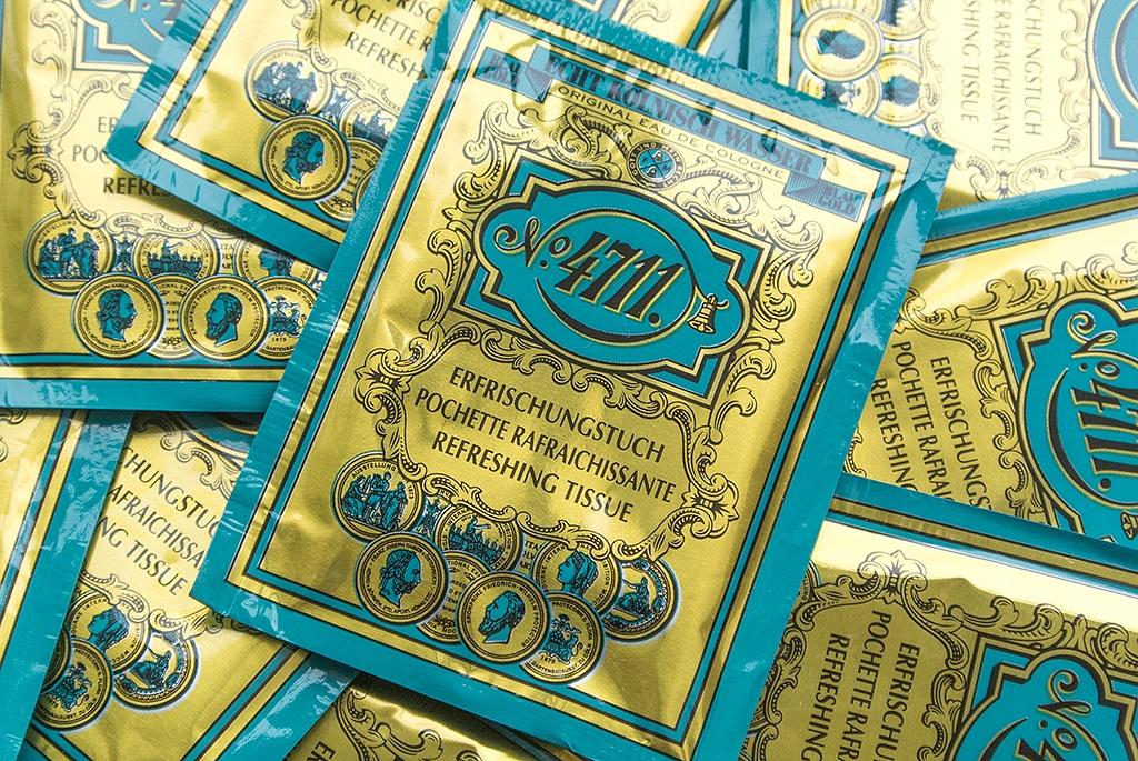 4711 Echt Kolnisch Wasser Original Eau De Cologne Refreshing Tissue 2