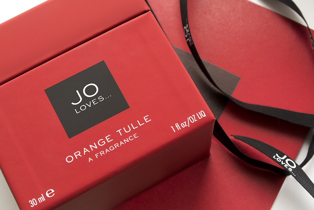 Jo Loves Orange Tulle A Fragrance Box