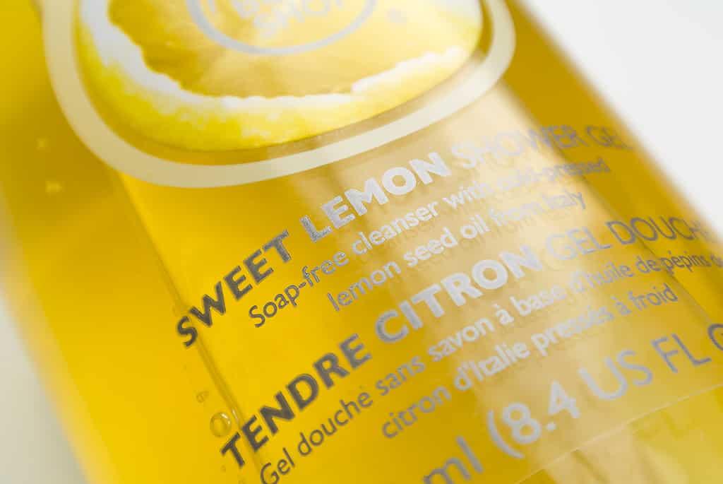 The Body Shop Sweet Lemon Shower Gel 1