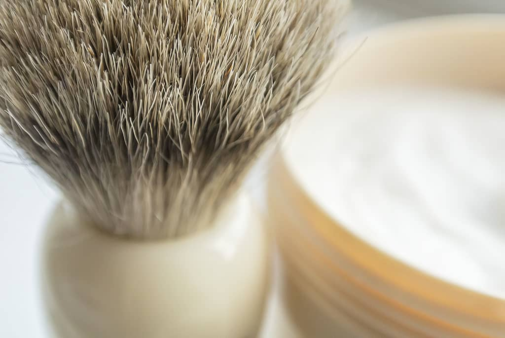 Executive Shaving Company Badger Shaving Brus
