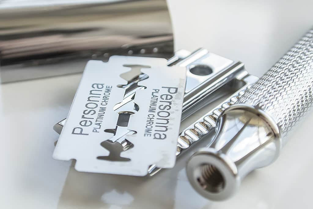 Executive Shaving Company Safety Razor and Razor Blade