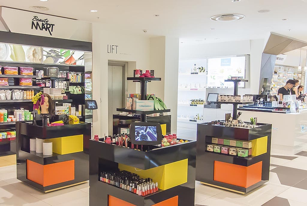 Harvey Nichols Beauty Bazaar Liverpool Beauty Mart