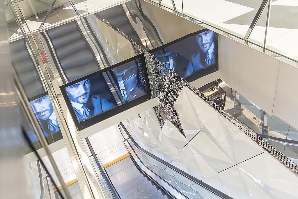 Harvey Nichols Beauty Bazaar Liverpool Escalator