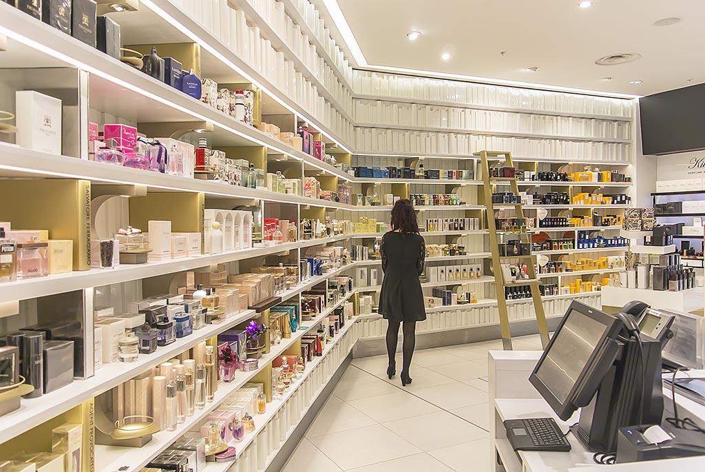 Harvey Nichols Beauty Bazaar Liverpool Fragrance Library