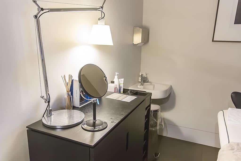 Harvey Nichols Beauty Bazaar Liverpool HydraFacial MD Treatment Room