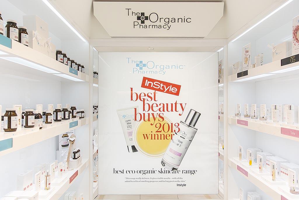 Harvey Nichols Beauty Bazaar Liverpool The Organic Pharmacy