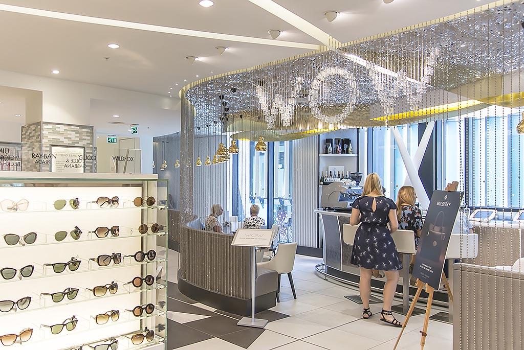 Harvey Nichols Beauty Bazaar Liverpool Wow Bar