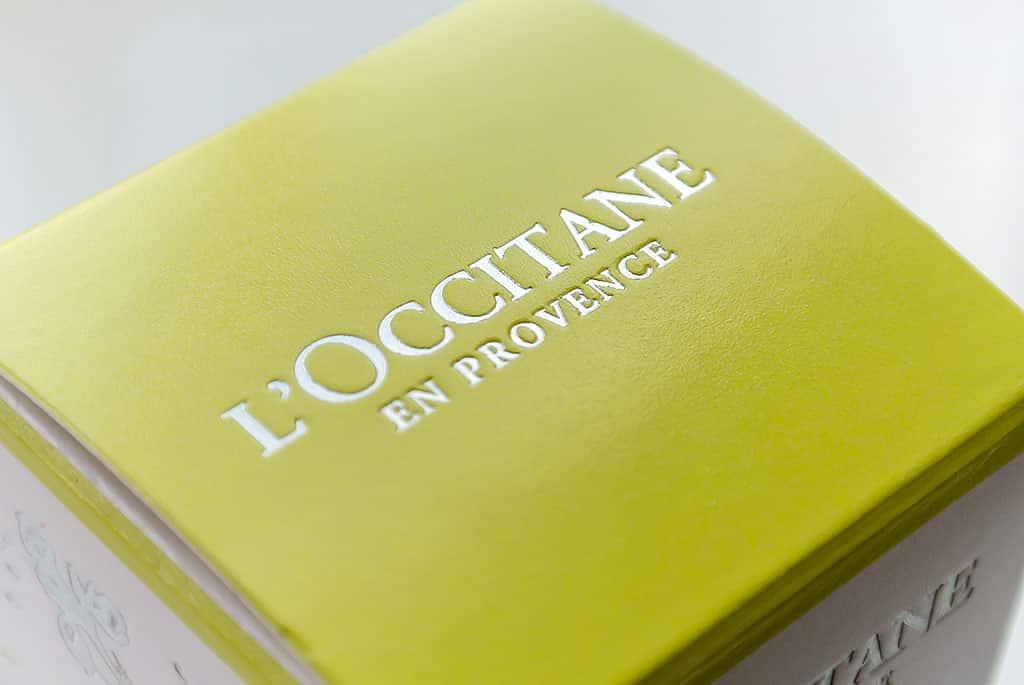 L'Occitane Iris Angelica Sublime Essence Box Lid