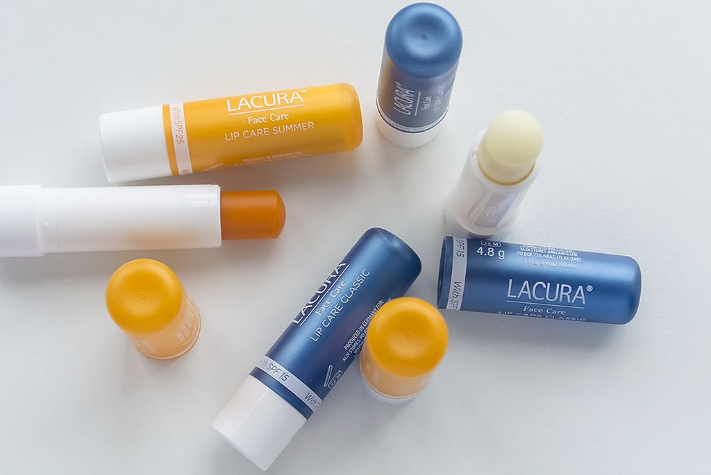 Aldi Lacura Face Care Classic Lip Care and Summer Lip Bare 3