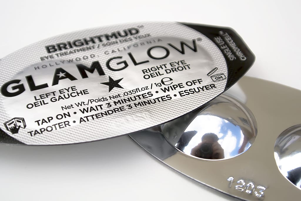GlamGlow BrightMud Eye Treatment Pods