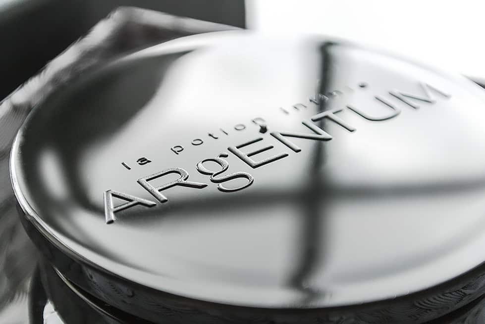 Argentum Jar Lid with Logo