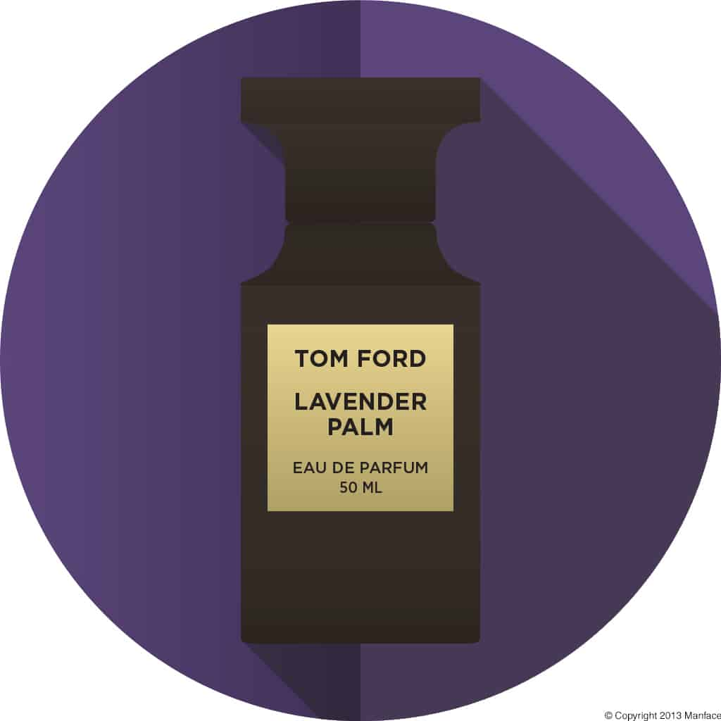 Tom Ford Lavender Palm Flat Vector Copyright