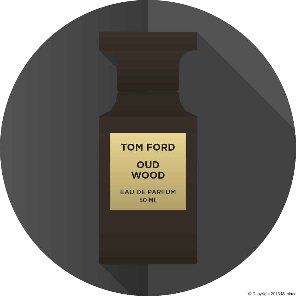 Tom Ford Oud Wood Flat Vector Copyright