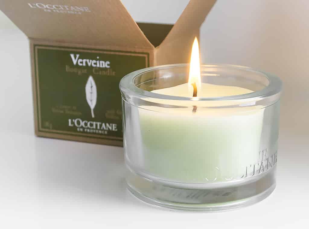 Verbana L'Occitane Candle with Box