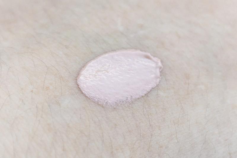 La Roche Posay Hydreane BB Cream Hand Swatch