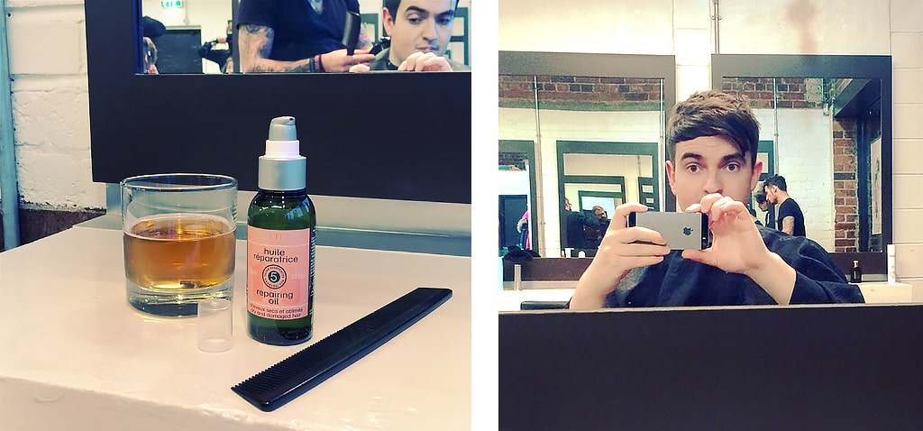 Mark Riley's with L'Occitane Repairing Oil for Dry and Damaged Hair 2