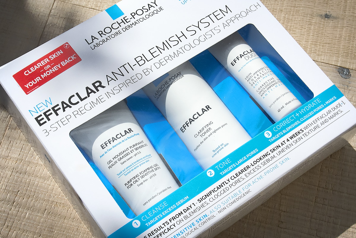 Test Driving La Roche Posay Effaclar 3 Step Anti Blemish System: The Results #Sponsored