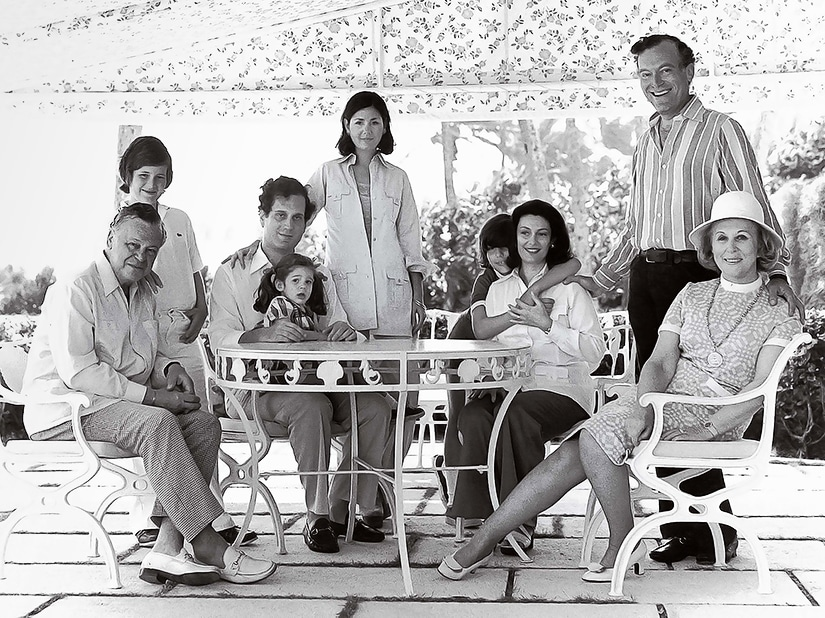 Lauder Family Palm Beach 1972