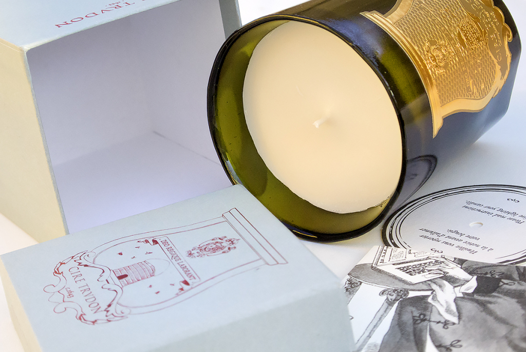 Cire Trudon Byron Open Box Spilled Contents