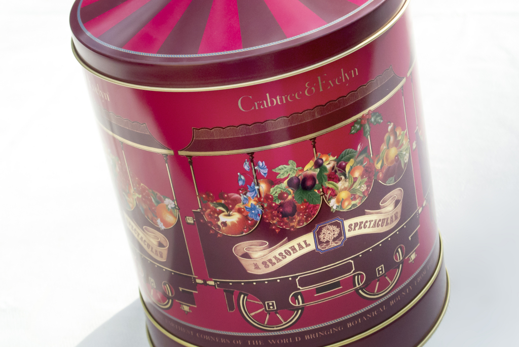 Crabtree & Evelyn Hand Tin