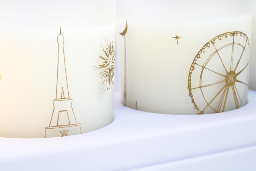 Francis Kurkdjian Three Scented Candles Patterns