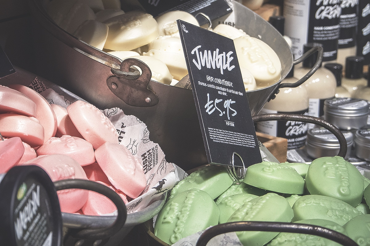 In Photographs: 220 Exclusive Products at The NEW LUSH Ltd Oxford Street