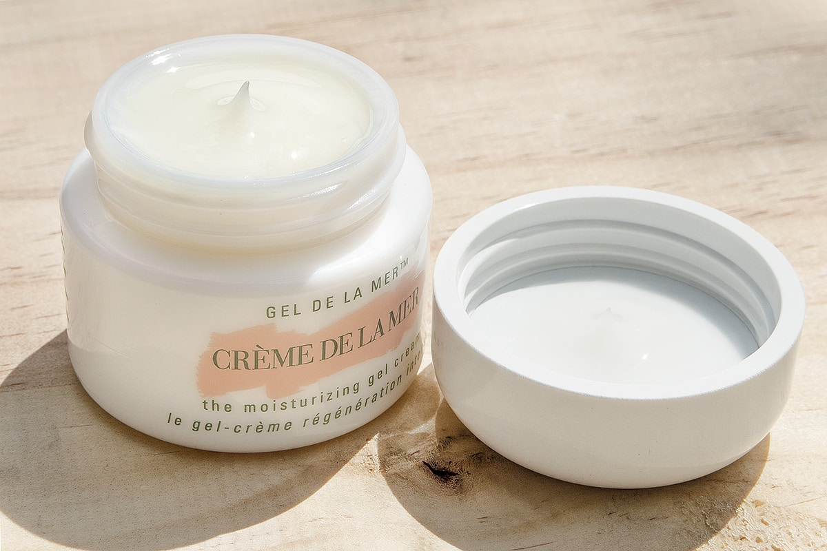 Crème de la Mer The Moisturising Gel Cream open pot
