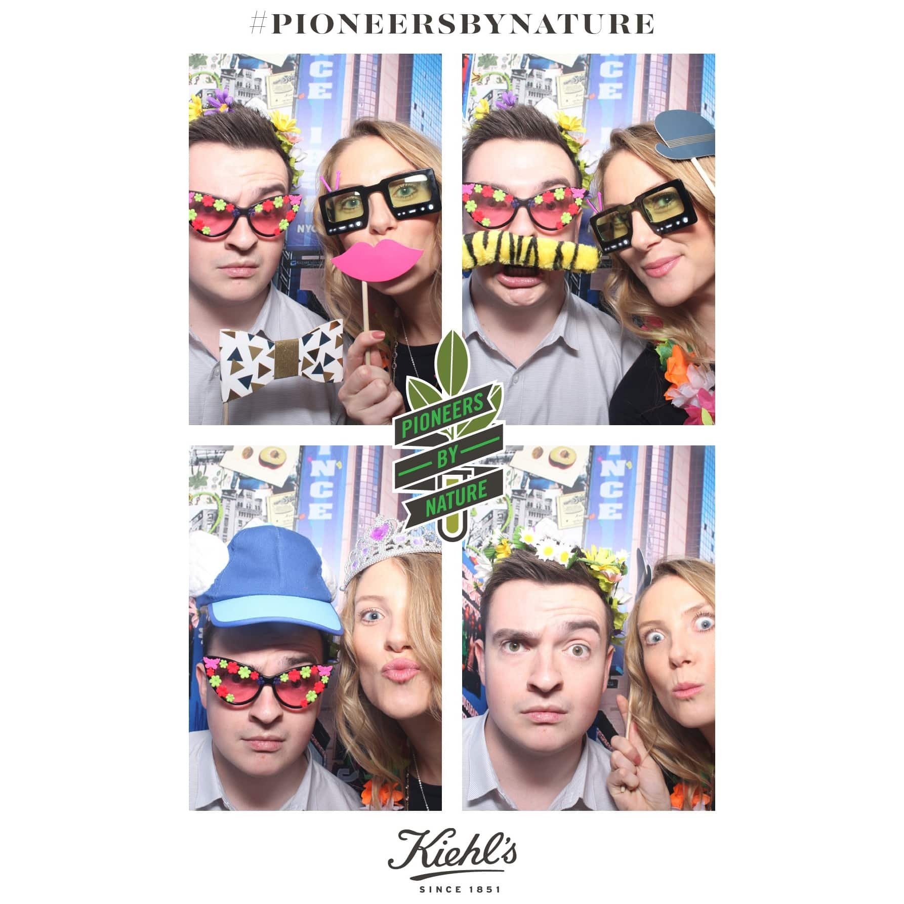 Me and Holly from Diary Directory having fun in the Photobooth