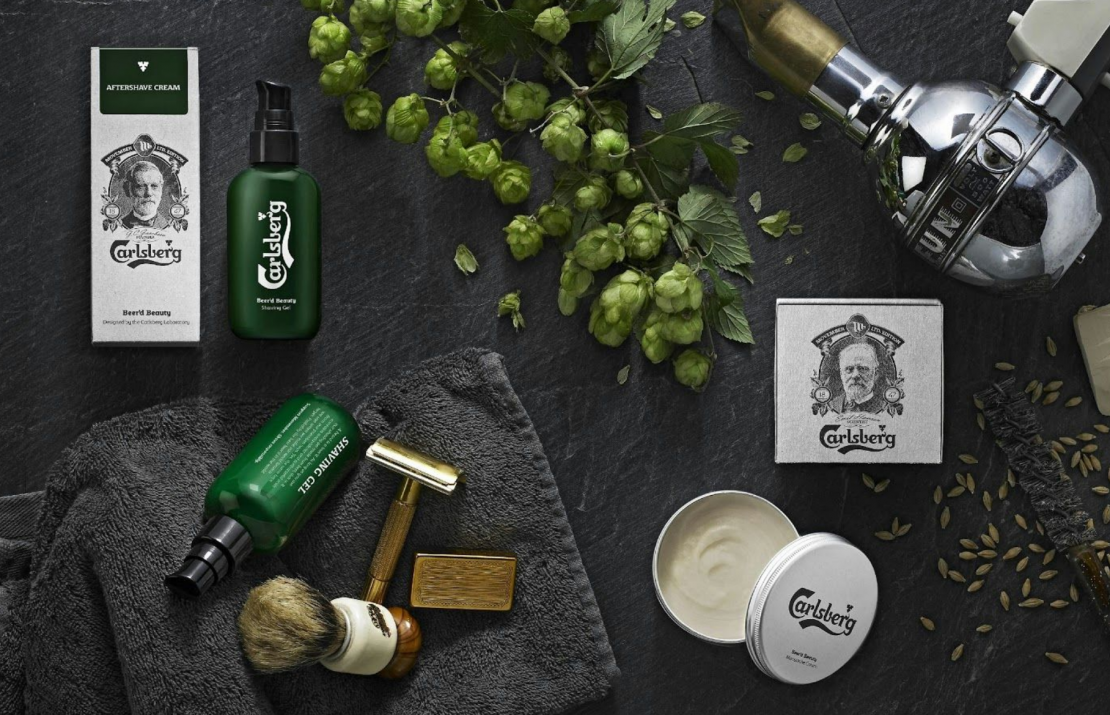 If Carlsberg did grooming products… #Sponsored