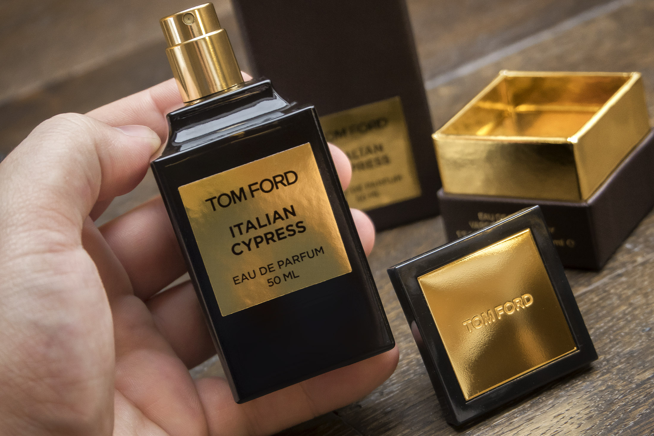 TOM FORD Italian Cypress returns to Harrods for 12 weeks only
