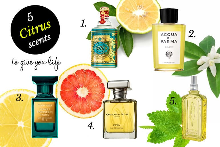 5 Citrus Scents to Give You Life for Summer 2016
