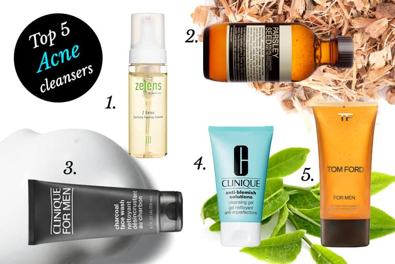 Top 5 Cleansers for Acne and Blemish-Prone Skin