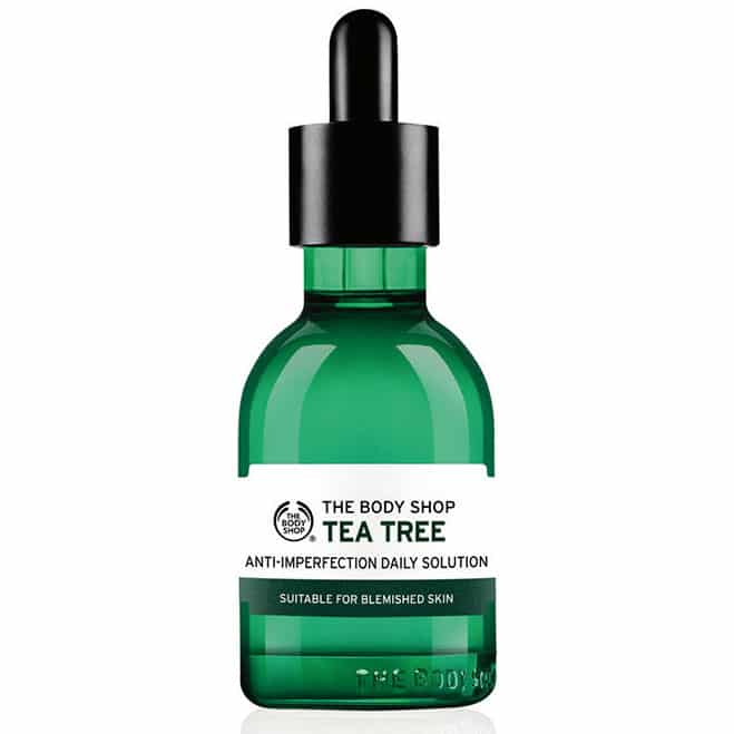 Tea Tree Anti-Imperfection Daily Solution. £11. The Body Shop.