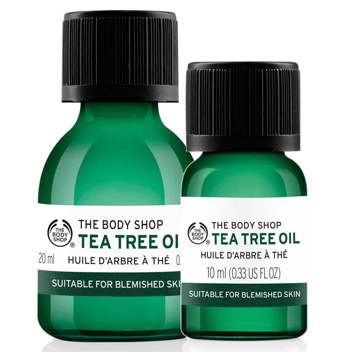 Tea Tree Oil. 10ml £8 / 20ml £11. The Body Shop.