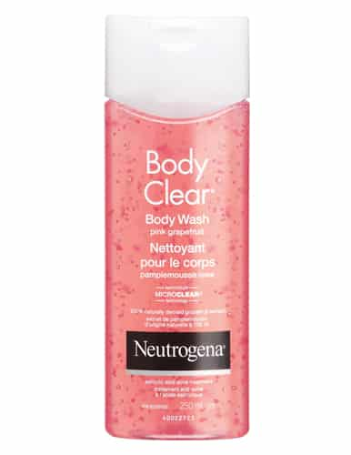 Neutrogena Body Clear Body Wash Pink Grapefruit. £11.50. Amazon UK.