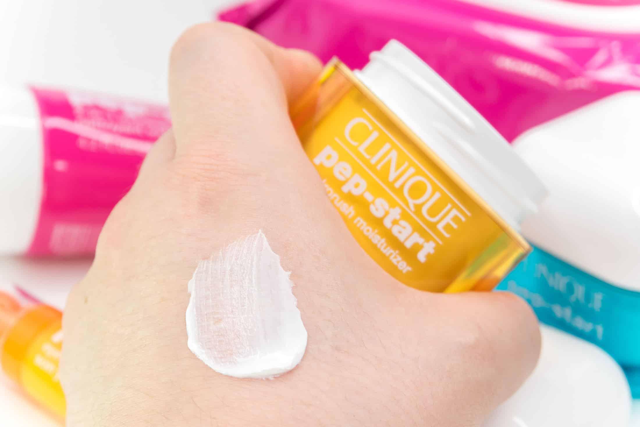 NEW Clinique Pep Start Skincare