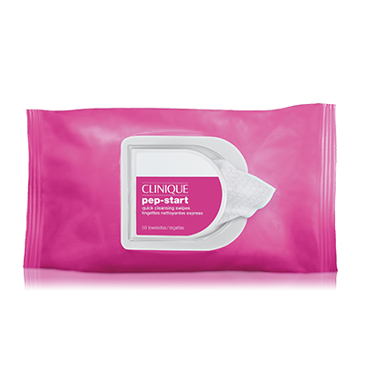 Clinique Pep-Start™ Quick Cleansing Swipes. £14. Clinique