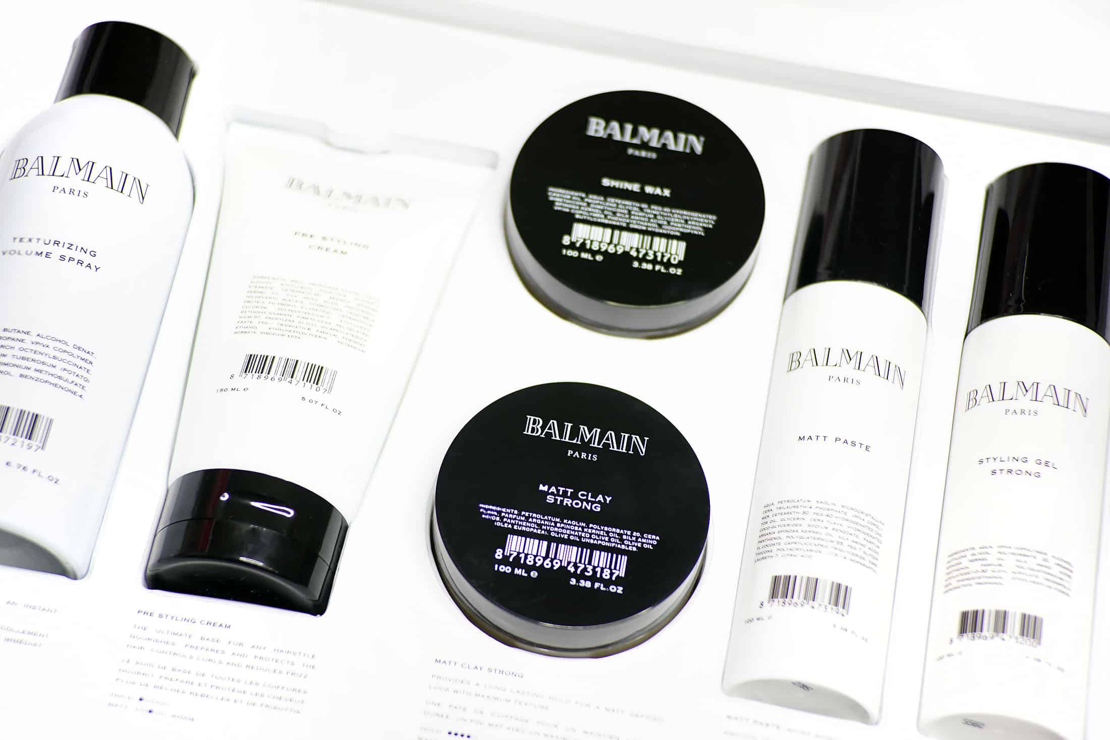 Hair Styling from Balmain