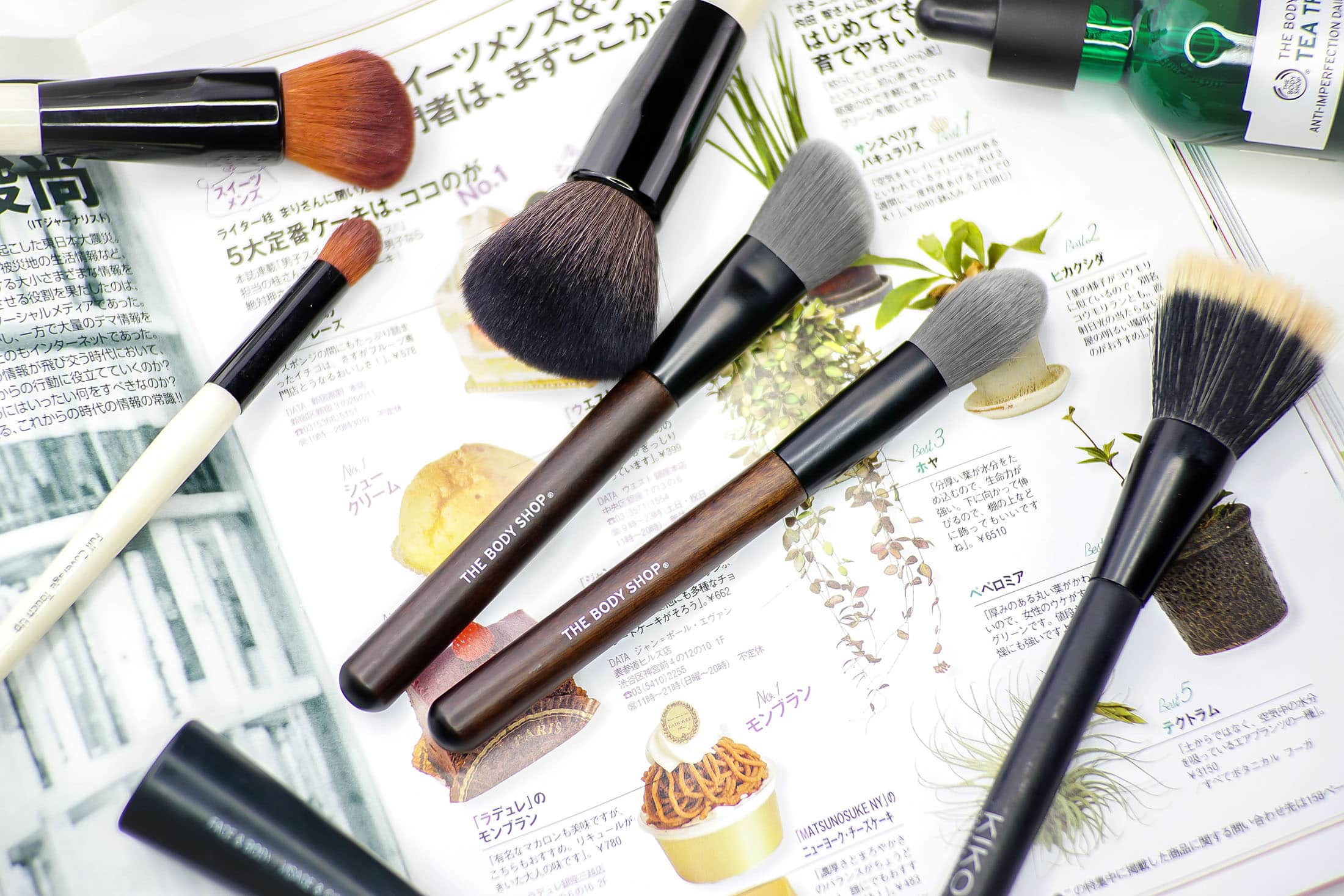 Get your man beat on with NEW Brushes from The Body Shop