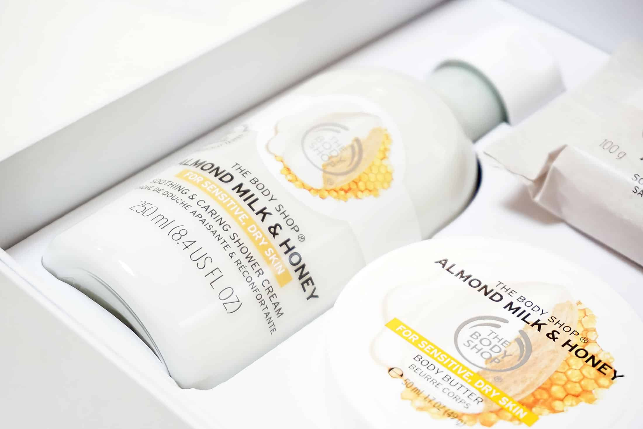 the body shop almond milk and honey 2