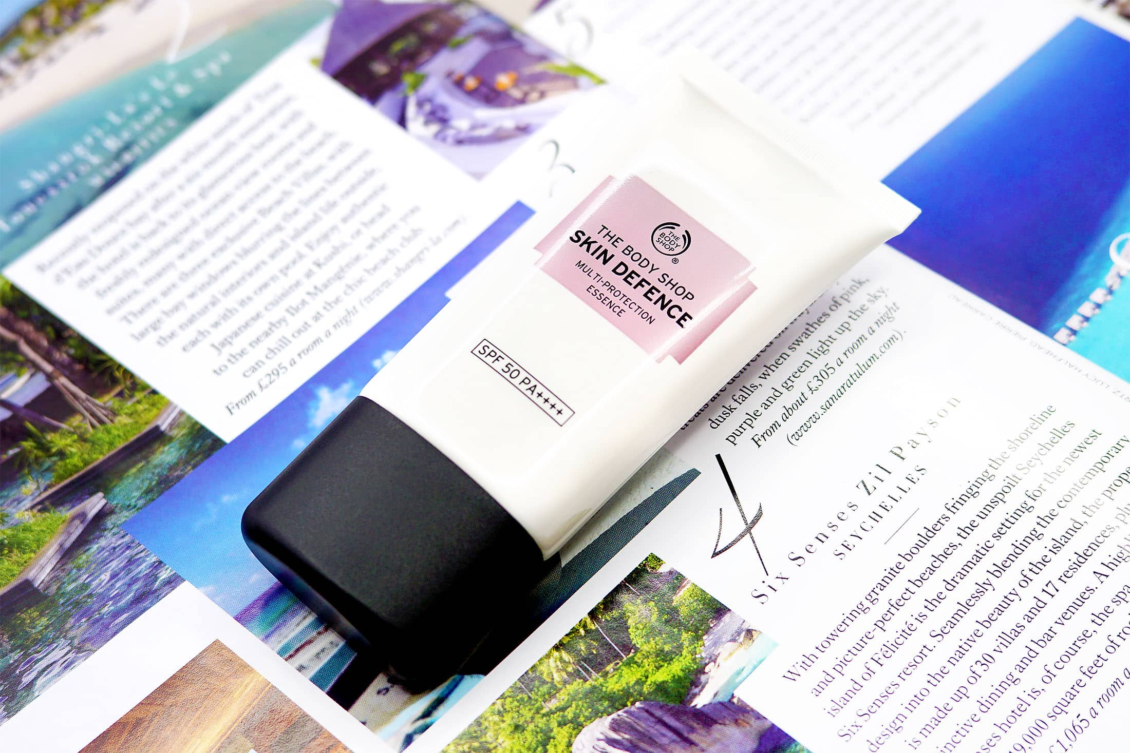 The Body Shop Skin Defence Multi Protection Essence SPF50 PA++++